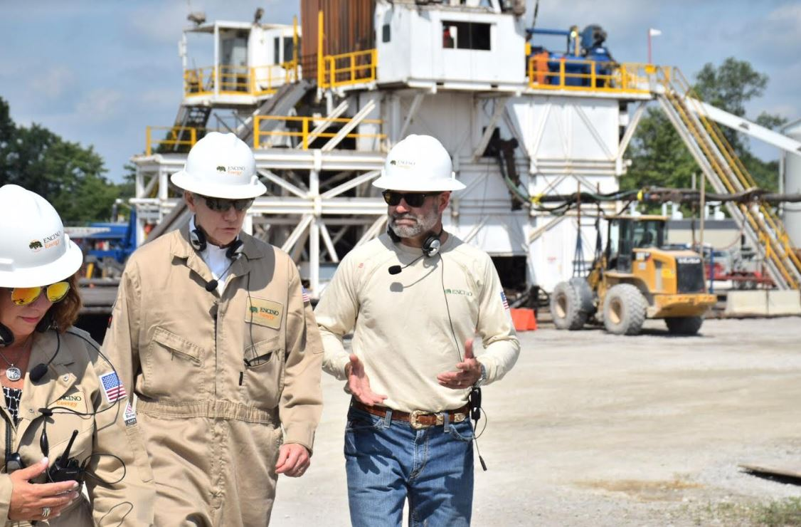 In Harrison County, Portman Continues His Three-Day Tour Across Southern & Southeast Ohio at Encino Energy Oil and Natural Gas Rig