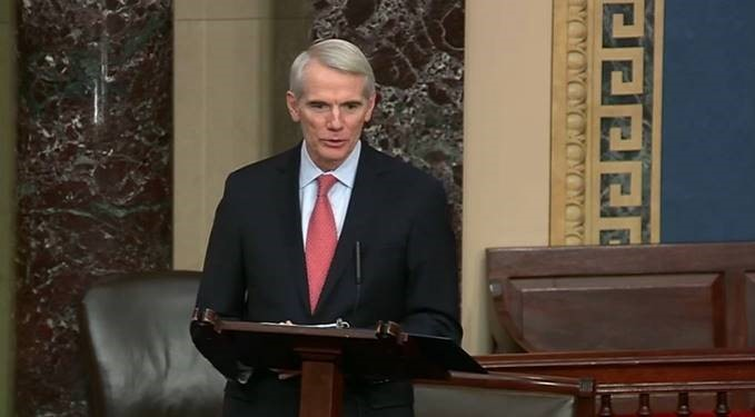On Senate Floor, Portman Urges Passage of Legislation to Rename NASA's Plum Brook Station Test Facility After Neil Armstrong