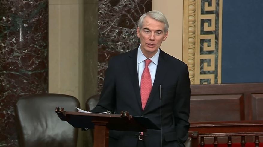 On Senate Floor, Portman Says U.S. Must Do More to Stop Theft of Taxpayer-Funded Research & Intellectual Property